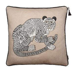 Cozy Living - Fable Tiger Embroidered - Alpaca