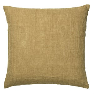 Cozy Living - Luxury Light Linen Cushion - CURRY