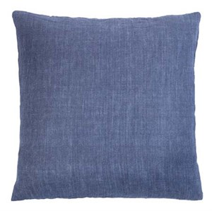 Cozy Living - Luxury Light Linen Cushion - DENIM BLUE
