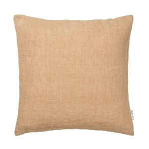 Cozy Living - Luxury Light Linen Cushion - CARAMEL