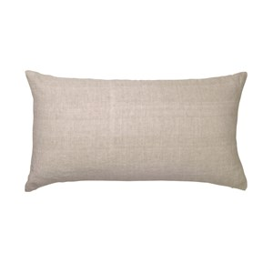 Cozy Living - Luxury Light Linen Gable Cushion - CASHMERE