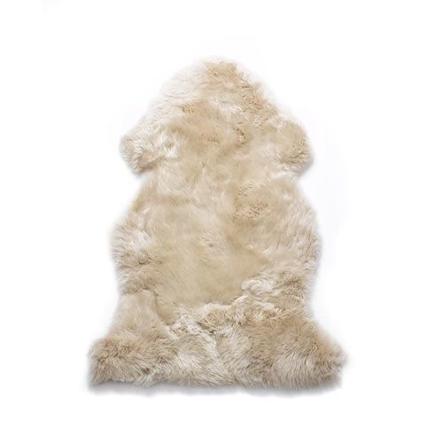 Natures Collection lammeskin - Linen sheepskin NZ (90x60 cm)