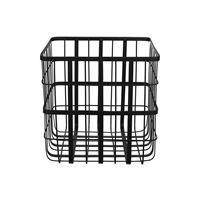 Louise Roe metalkurv - Metal frame basket i sort (small)
