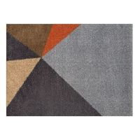 Skriver Collection - Dørmåtte - TrendMat Delux  - Art orange (60 x 85 cm)