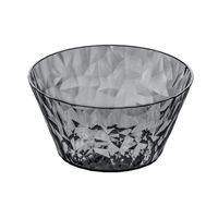 Koziol Bowl - Crystal skål 0,7 l (anthracite)