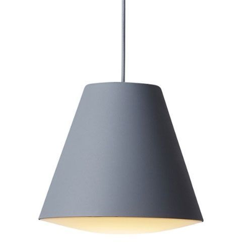 Wrong for hay Lampe - Sinker Pendant Lamp - Grå (large)