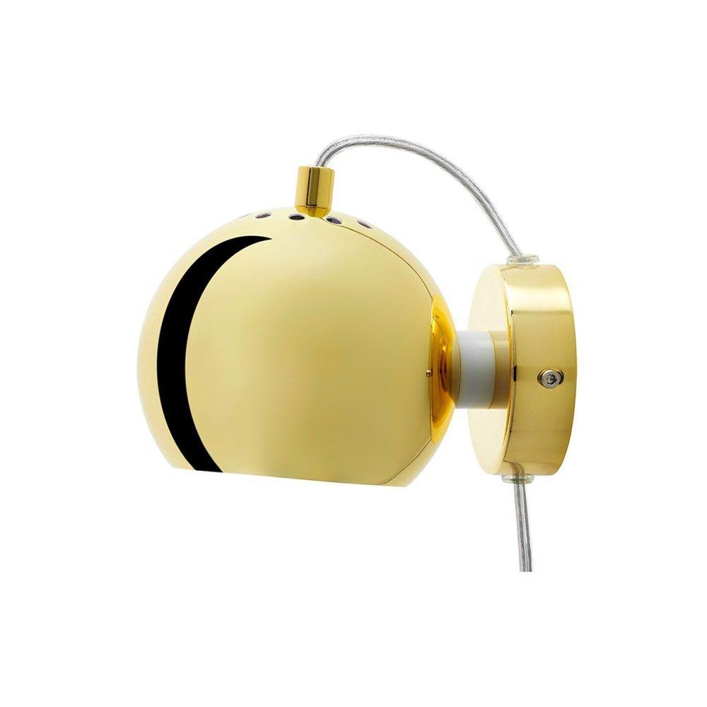 Frandsen Lighting Ball v u00e6glampe i kobber u00d8 12 cm gratis fragt