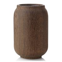 Applicata - Poppy Vase large (røget eg)