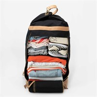 KAOS - Weekend bag, sort (40L)