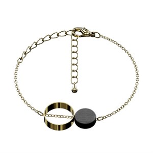 Jewelry by Grundled - Coco Armbånd - Sort