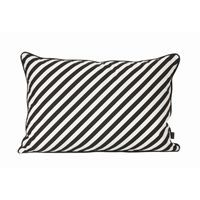 Ferm Living - pude - black stripe