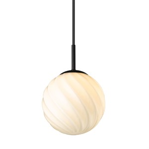Halo Design - Twist Pendel Ball Ø15 - Sort