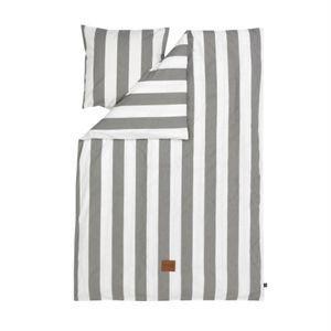Ferm Living - sengetøj - vertigo i grå