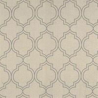 Au Maison voksdug - India toffee/grey (pris pr. meter)