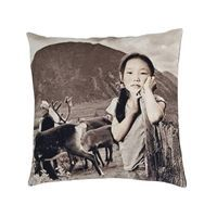 "Au maison pude ""Dream on Mountain Girl"" i b/w - 45 x 45 cm"