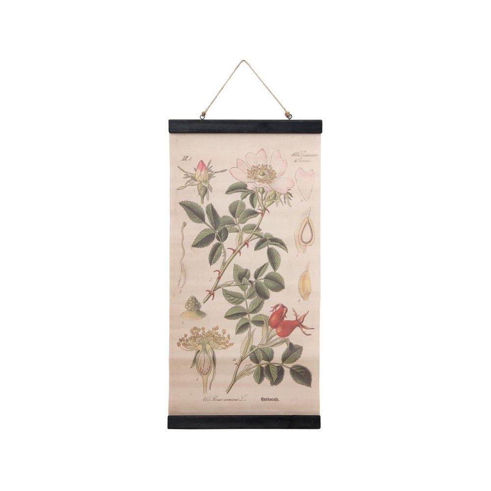 Au maison billede med botanisk tryk for Au maison online shop