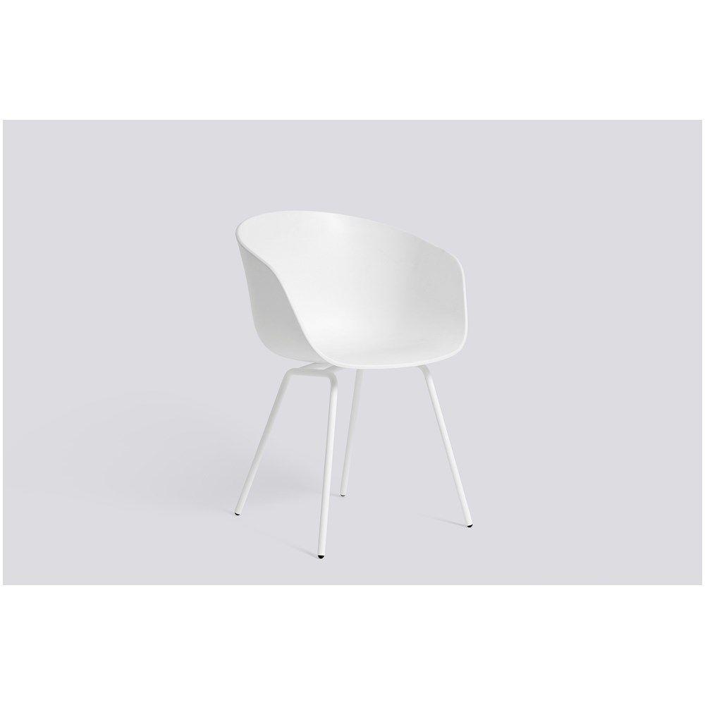 Hay - Stol AAC26 - hvid med hvide ben