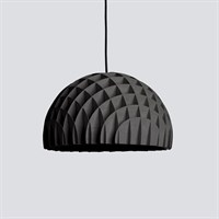 LAWA Design - Arc, pendant black plywood (Sort ledning) - 40 cm.