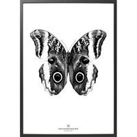 Hagedornhagen plakat - Black and White (70 x 100 cm)