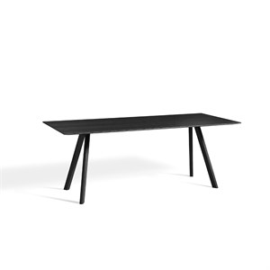 Hay bord - CPH30 Copenhague table 200 x 90 cm - Sort ben/sort top