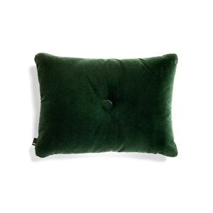 HAY - Pude - Dot Cushion Soft - Velour - Dark Green