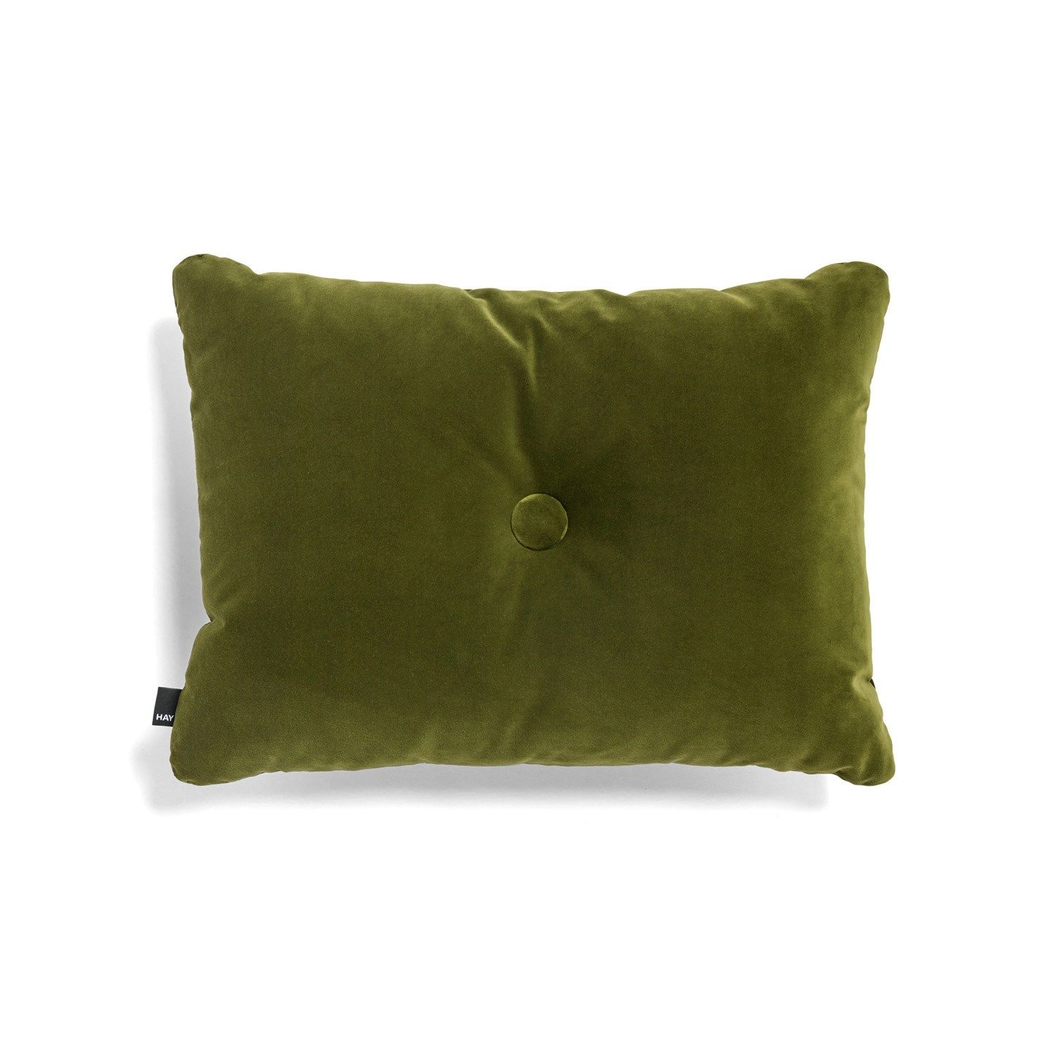 HAY - Pude - Dot Cushion Soft - Velour - Moss
