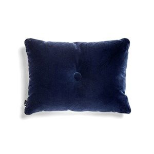 HAY - Pude - Dot Cushion Soft - Velour - Navy
