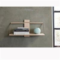 Andersen Furniture - Shelf Wood Wall  - Oak - 45x20xH32 cm