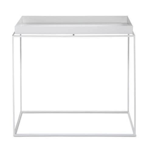 Hay bord - Tray table rectangular - Hvid L