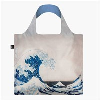 LOQI - Indkøbsnet - Hokusai 'The great wave'