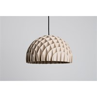 LAWA Design - Arc, pendant plywood (Sort ledning) - 40 cm.
