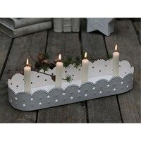 Chic Antique - Adventsstage - Hvid