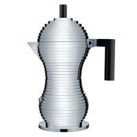Alessi kaffekande - Pulcina 6 coffee maker i sort