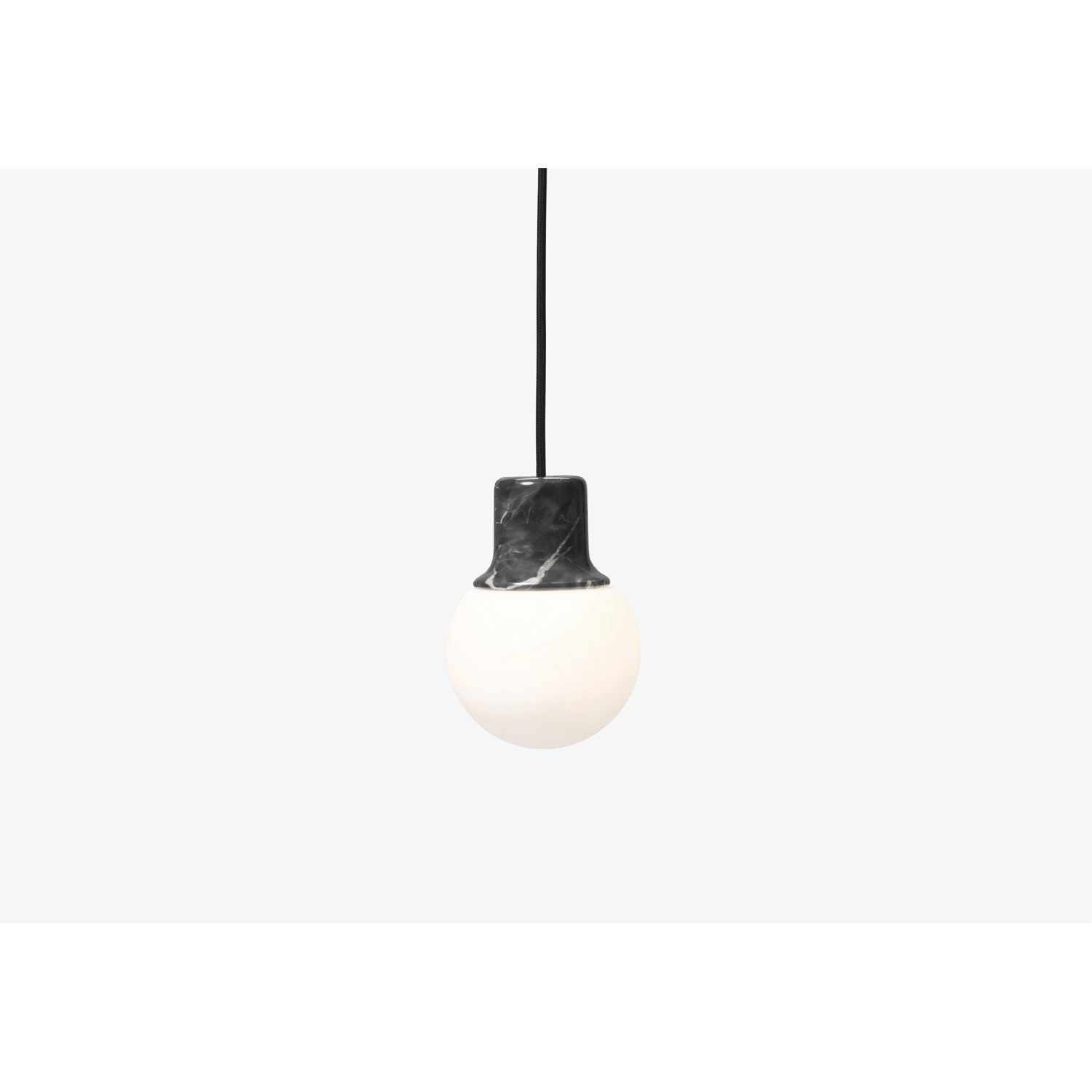 &tradition - Mass Light NA5 pendel - Nero Marquina Marmor