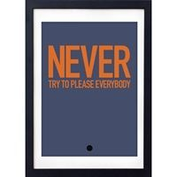 Love A Fox plakat - Never try to please everybody 30 x 40