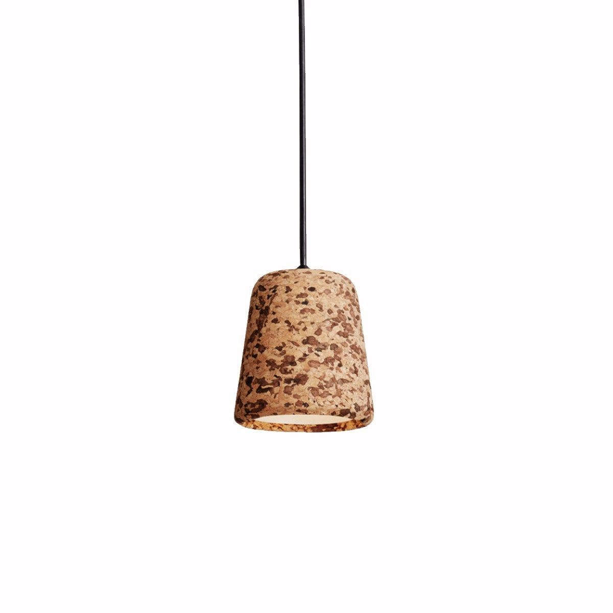 New Works - Material Pendant - cork mixed