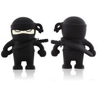 USB n�gle Ninja sort fra Bone (8 GB)
