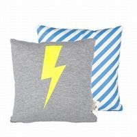 Ferm Living - Pude - Lighting Cushion neon, 30 x 30 cm