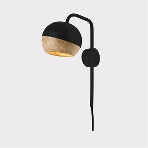 "Mater -Væglampe ""Ray Wall Lamp"" - sort"