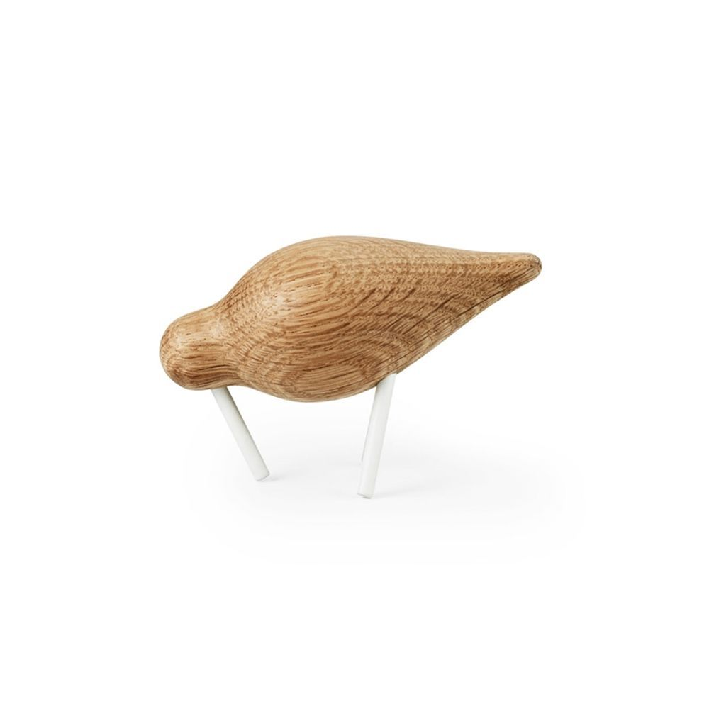 Normann Copenhagen - Shorebird small - eg/hvid