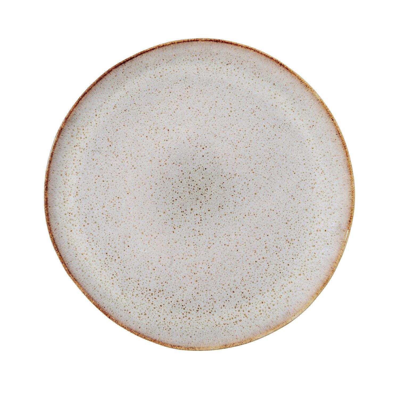 e60eff8c56c Bloomingville - Sandrine Tallerken - Grå - Stentøj (Ø:28,5 cm)