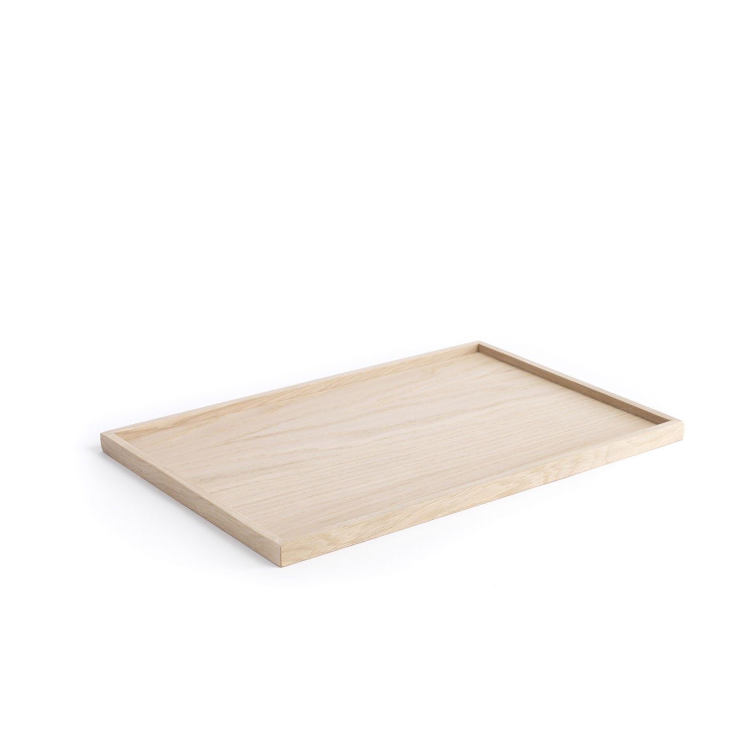 The Oak Men træbakke - Square Tray Large - Eg