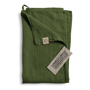 Lovely Linen - Viskestykke, Jeep Green