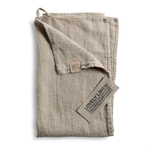 Lovely Linen - Viskestykke, Natural Beige
