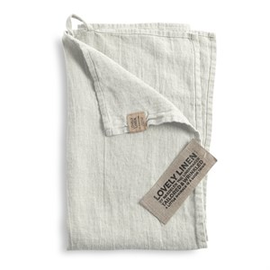 Lovely Linen - Viskestykke, Light Grey