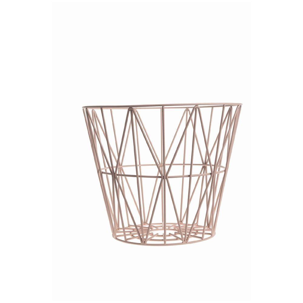 ferm living wire basket small gratis fragt. Black Bedroom Furniture Sets. Home Design Ideas