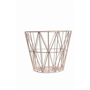 Ferm Living - Wire Basket small - rose