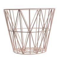 Ferm Living - Wire Basket large - rose