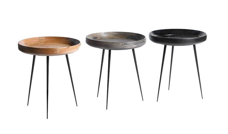 Mater   bakkebord / bowl table fra mater. flot og stilrent bord ...