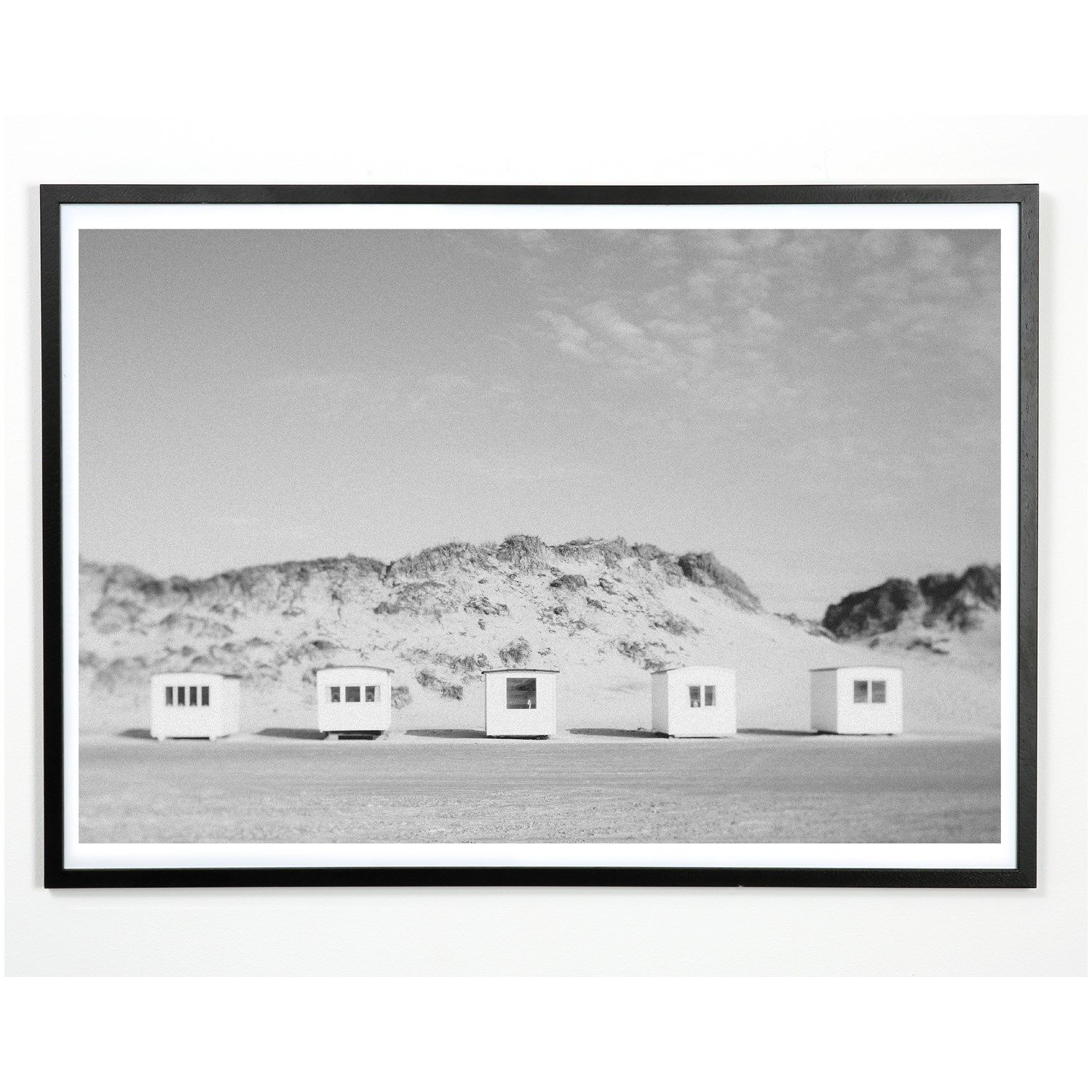 Applicata - Plakat - Beach house - 50x70 cm